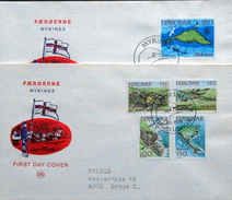 Faroe Islands  1978 Islands Of Mykines   MiNr.31-35       FDC   ( Lot  6284 ) MN COVER