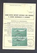 FINISTERE 29 LA FEUILLEE ORDRE DE REEXPEDITION - 1961-....