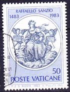 Vatikan - Fresken Von Raffael (MiNr. 826) 1983 - Gest. Used Obl. - Vaticano (Ciudad Del)