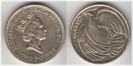 **** GREAT BRITAIN - GRANDE-BRETAGNE - 2 POUNDS 1995 - 50th ANNIVERSARY END OF WORLD WAR II **** EN ACHAT IMMEDIAT !!! - 1971-… : Monnaies Décimales