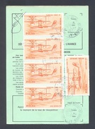 FINISTERE 29 LOPERHET ORDRE DE REEXPEDITION - Postmark Collection (Covers)