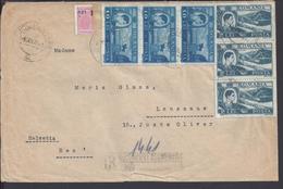 ROUMANIE - 1948 - Enveloppe Recommandée De Bucuresti à Destination De Lausanne - (SUISSE) B/TB - - Brieven En Documenten