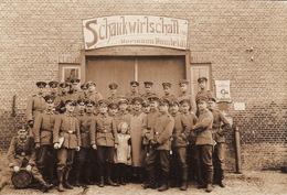 Photo 14-18 LOCKSTEDTER LAGER - Soldaten, Schankwirtschatt, Von Hermann Homteldt (A168, Ww1, Wk 1) - Non Classés