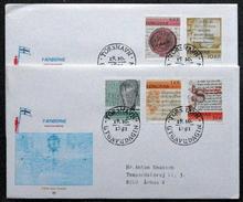 Faroe Islands  1981   MiNr.65-69        Historic Writings      FDC   ( Lot  6285 ) MN COVER