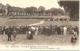 BAYONNE - Le Camp De Saint-Léon, Un Jour De Revue - LL 113 - Non Voyagé - Tbe - Bayonne