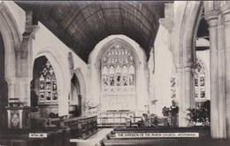 WESTERHAM  PARISH CHURCH INTERIOR - England