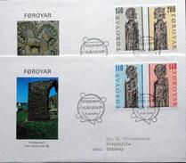 Faroe Islands  1980  Pews Of Kirkjubour Church      MiNr.55-58   ( Lot 6285  )
