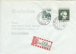 Germany - Registered Cover Used  5206 Neukirchen - Seelscheid 1.  1981    H-1033