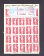 FINISTERE 29 BREST RECOUVRANCE ORDRE DE REEXPEDITION - Marcophilie (Lettres)