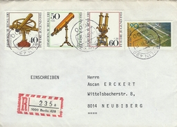 Germany - Registered Cover Used  1000 Berlin 420.  1981    H-1034