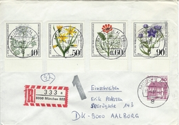 Germany - Registered Cover Used  8000 München 822.  1981    H-1035