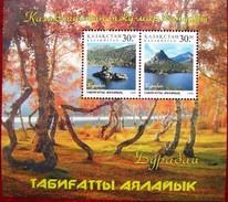 """Kazakhstan   1997  National  Park """"BURABAI""""     S/S   MNH - Natur"""