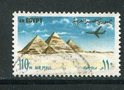 EGYPTE- Y&T N°142- Oblitéré - Poste Aérienne