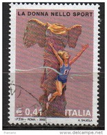 PIA - ITA - 2002 : La Donna Nello Sport   - (SAS 2662) - 6. 1946-.. Repubblica