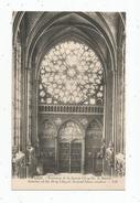 Cp , 75 , PARIS , Intérieur De La SAINTE CHAPELLE  , La Rosace  , Vierge - Autres