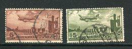 EGYPTE- P.A Y&T N°155 Et 56- Oblitérés - Poste Aérienne