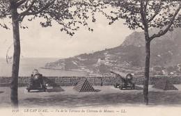 MONACO---LE CAP D'AIL---vu De La Terrasse Du Château De Monaco--voir 2 Scans - Terraces