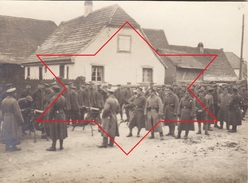 Photo 14-18 RULISHEIM (Ruelisheim Près Mulhouse) - Soldats Allemands, Mitrailleuse, MG (A168, Ww1, Wk 1) - France