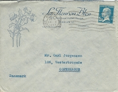 France.  Cover Sent To Denmark 1927    H-1044 - France
