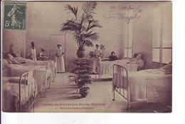 Société De Secours Aux Blessés Militaires - Salle Des Opérés (Femmes) - Militares