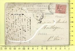 CARTE NOMINATIVE: MONIBET à 70230 Montbozon - Cartes Postales