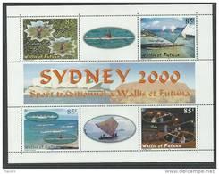Wallis Et Futuna B.F. N° 9 XX  : Jeux Olympiques De Sydney, Le Bloc Sans Charnière TB