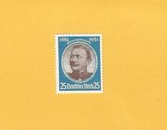 Deutsches Reich 1934 * (Falzrest) 543 Kolonialforscher: Hermann Von Wissmann - Deutschland