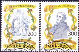 Vatikan - Johannes Van Ruusbroec (MiNr. 789/90) 1981 - Gest. Used Obl. - Vaticano (Ciudad Del)