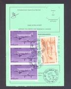 FINISTERE 29 BREST CENTRE COM RALLYE AP ORDRE DE REEXPEDITION - 1961-....