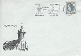France - Cover & Postmark Morhange Moselle 23-10-82.   H-1047 - Other