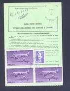 FINISTERE 29 LOPERHET ORDRE DE REEXPEDITION - Marcophilie (Lettres)