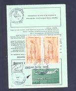 FINISTERE 29 LA FEUILLEE ORDRE DE REEXPEDITION - Storia Postale