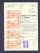 FINISTERE 29 LOCQUIREC ORDRE DE REEXPEDITION - 1961-....