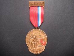 Medaglia Svizzera Martigny-Combe - Marche Des Amis De Plain-Cerisier - ME62 - Gettoni E Medaglie