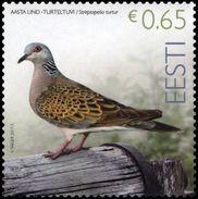ESTONIA ESTLAND 2017 BIRD OF THE YEAR – TURTLEDOVE MNH - Estland