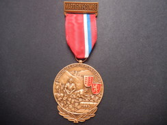 Medaglia Svizzera Martigny-Combe - Marche Des Amis De Plain-Cerisier - ME64 - Tokens & Medals