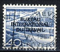 Svizzera BIT 1950 N. 323 C. 40 Azzurro Sovrastampato Usato Cat. € 21 - Servizio