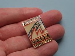 AGFIS GAISE SIDNEY 1991 ( Zie Foto ) 20 Mm X 30 Mm. ! - Pin's