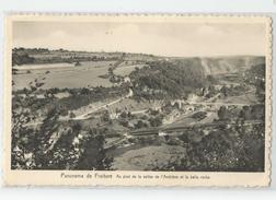 Belgique - Liege Fraiture Comblain Maison Istas Leduc , Panorama Vallée Amblève Et La Belle Roche - Comblain-au-Pont