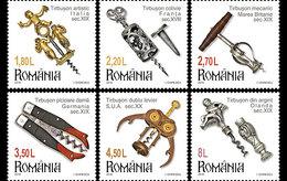 ROMANIA 2016 Romanian Collections, Corkscrews