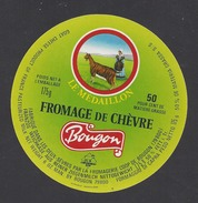 Etiquette De Fromage De Chèvre  -  Lait. Coop. De Bougon    (79) - Cheese