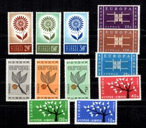 Chypre Séries Europa 1962, 63, 64 Et 65 Neuves ** MNH. TB. A Saisir!