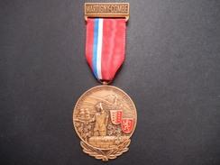 Medaglia Svizzera Martigny-Combe - Marche Des Amis De Plain-Cerisier - ME68 - Non Classificati