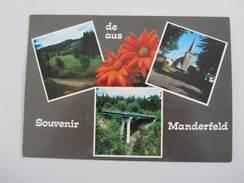 016A/ Souvenir De/aus Manderfeld - Bullange - Buellingen