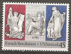 USA. Scott # C120 MNH. French Revolution. Joint Issue With France 1989 - Emissions Communes