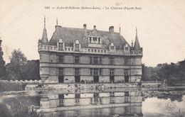 37 Indre Et Loire, Azay Le Rideau, Façade Sud Du Château, Carte Précurseur - Azay-le-Rideau
