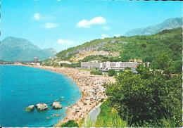 Montenegro, Sutomore, Hotel En Strand, Ca. 1980 - Montenegro