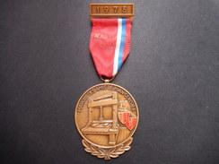 Medaglia Svizzera 1975 - Marche Des Amis De Plain-Cerisier - ME71 - Non Classificati