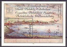 Faroer /  Føroyar  Block 3 ** - Philatelistische Weltausstellung  . . M1616