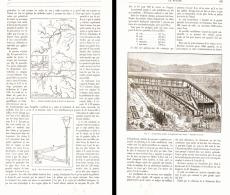 LES EXPLOITATIONS AURIFERES Du District De BOGOSLOWSK ( OURAL )   1889 - Minerales & Fósiles